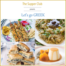 The Supper Club : Let's go Greek