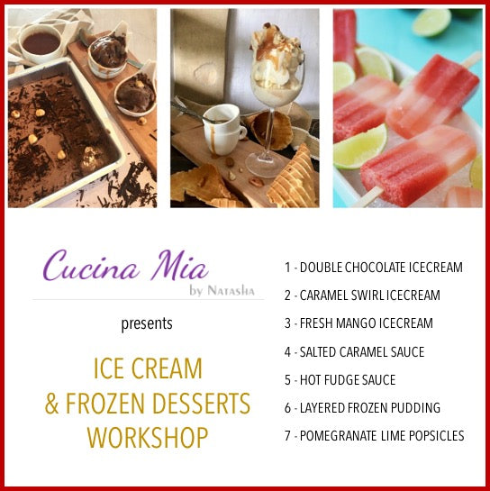 Frozen Desserts Workshop