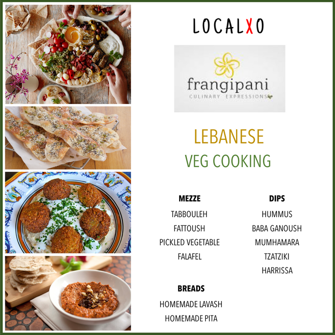 Lebanese Cooking Workshop - Vegetarian
