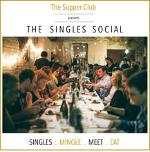 The Supper Club : Singles Social at The English Tea Room