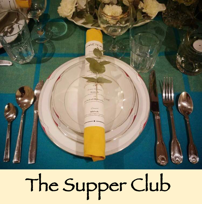 The Supper Club - a la pop up style