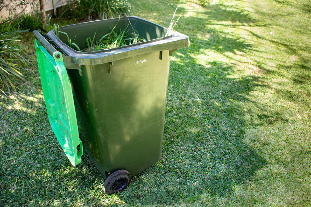 Everything you need to know about garden waste wheelie bins