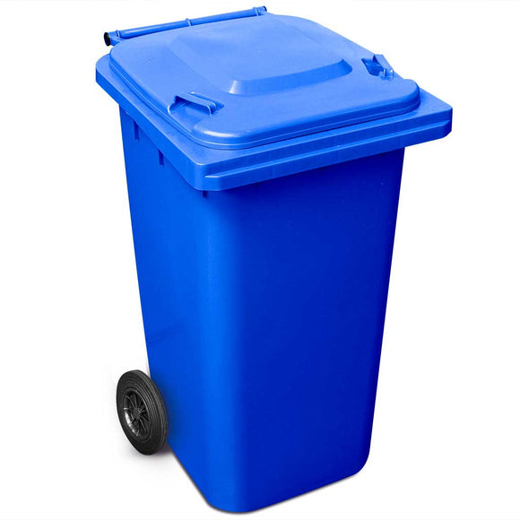 240 Litre Wheelie Bin In Blue