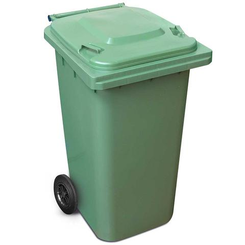 240 Litre Wheelie Bin In Green