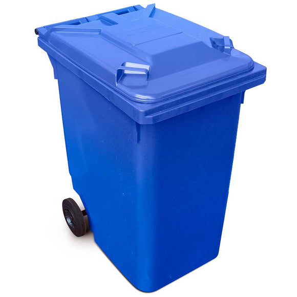 Blue 360 Litre Wheelie Bins