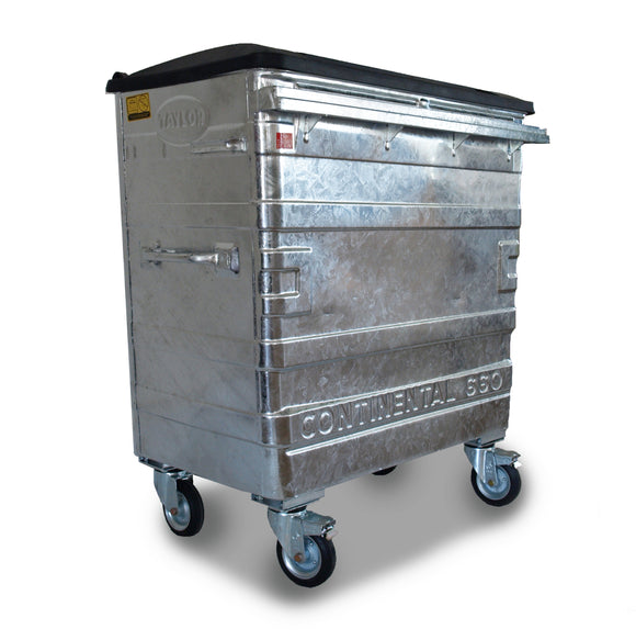 660 Litre Metal Bins