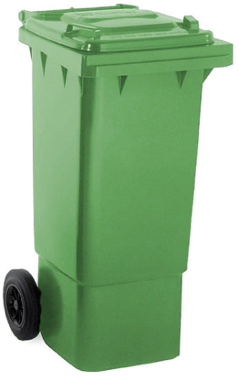 Green 80 Litre Wheelie Bins