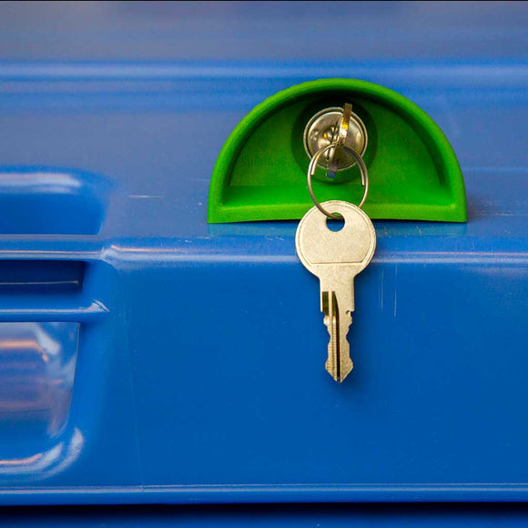 Wheelie Bin Lock (confidential waste flat key)