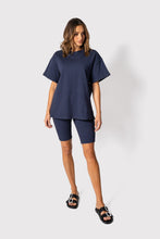 Load image into Gallery viewer, JOHNNY T-Shirt Dusty Navy