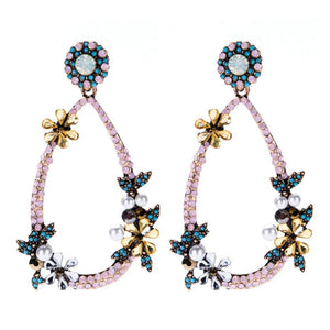 ANNIE Earrings by MAYA - Pink