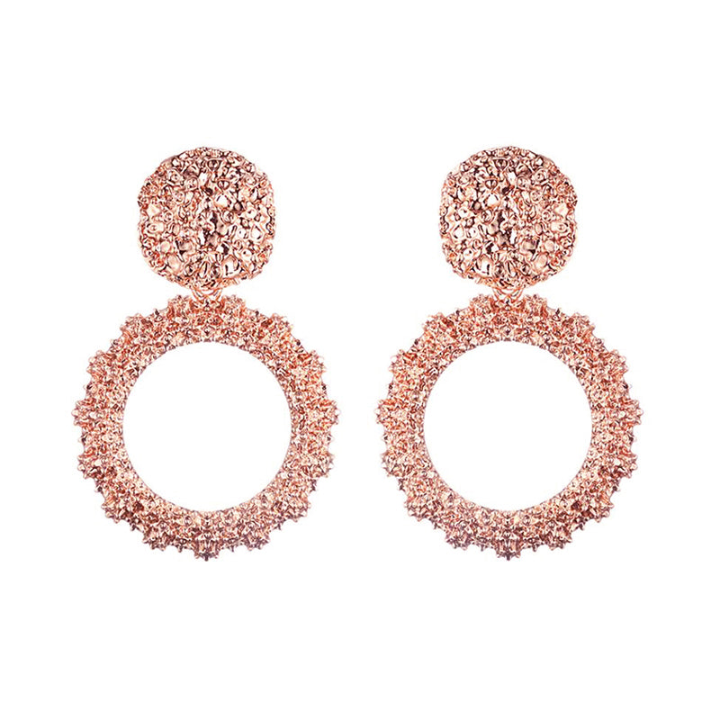 BELLY Earrings by MAYA - Rose Gold
