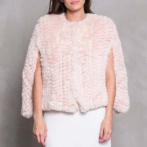 CAMELO Faux Fur - Blush