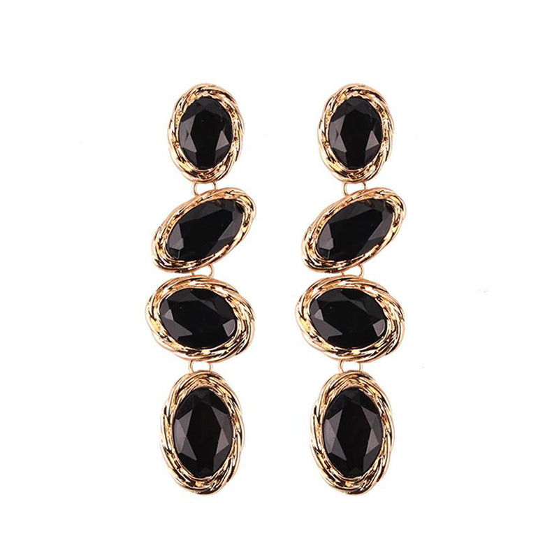 Carolina Earrings by MAYA - Black