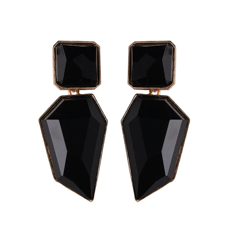 Imala Earrings by MAYA - Black