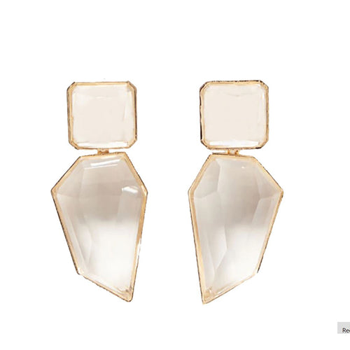 Imala Earrings by MAYA - Clear