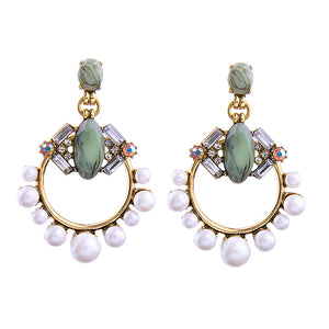 JESSA Earrings by MAYA Green