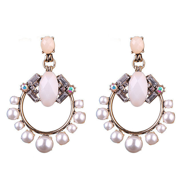 JESSA Earrings by MAYA Blush