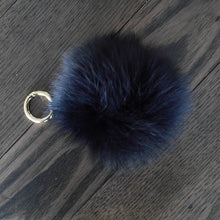 Load image into Gallery viewer, Fox Fur Key Rings