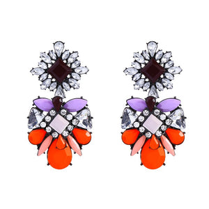 OPHELIA Earrings by MAYA - Orange