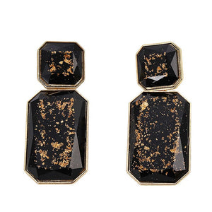 Pumpa Earrings by MAYA - Black