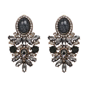 SAMAR Earrings by MAYA - Black