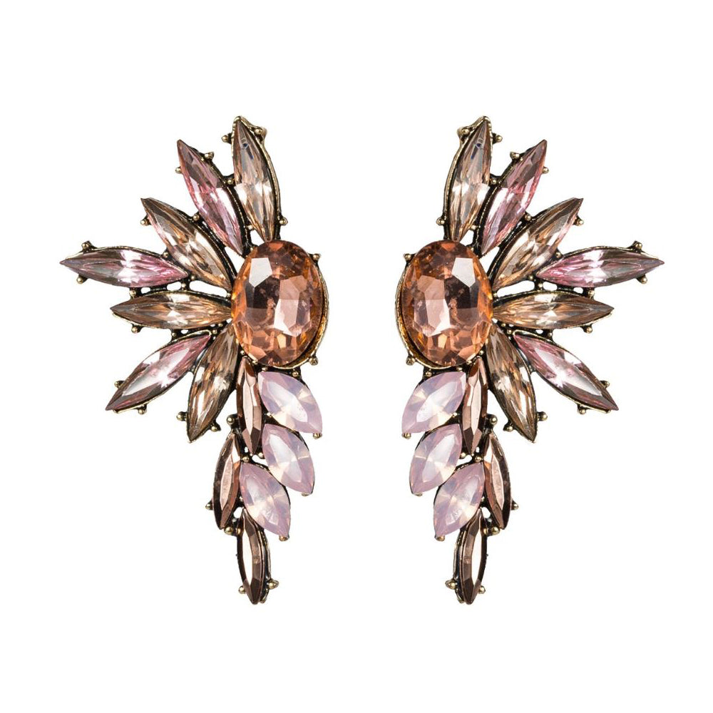 WILLIAN Earrings by MAYA - Pink