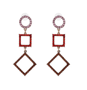 ZAKEL Earrings by MAYA - Red