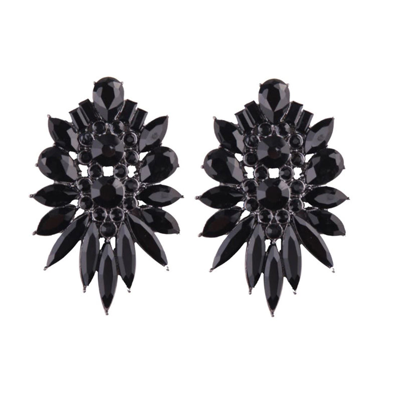 ZIKAN Earrings by MAYA - Black