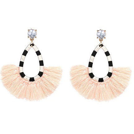 ZOE Earrings by MAYA - Peach