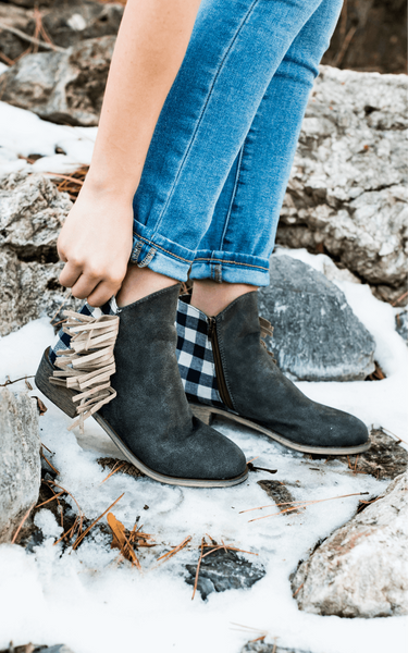 Cami - Modern Low-Heel Ankle Boots (Vegan)