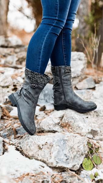 Bettie - Mid-Calf Winter Boots