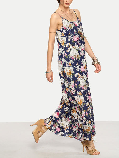 Liora Shift Maxi Dress
