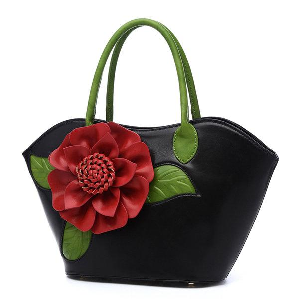 Flower Shoulder Handbag