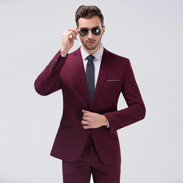 Macarthur Luxury 3 Piece Suit Fray