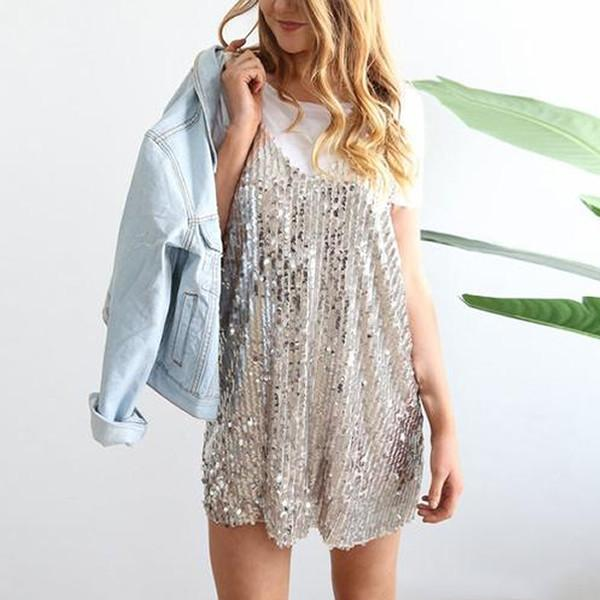 Elba - Sequin Dress