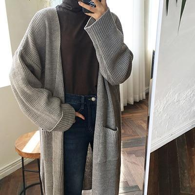 Daxton - Long Knitted Cardigan