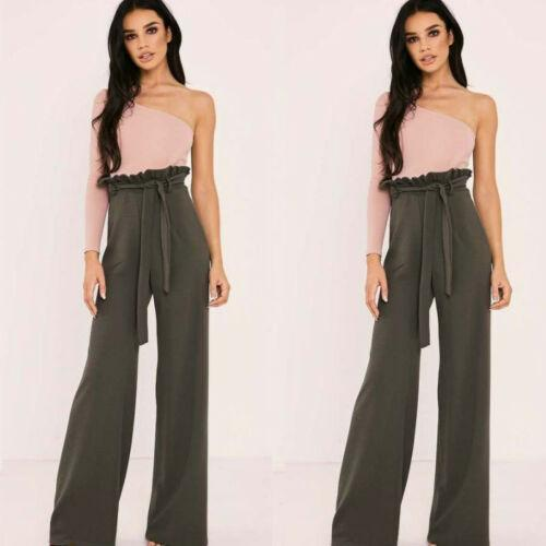 Laurel - High Waist Flare Leg Trousers