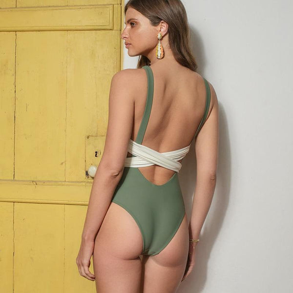 Ryder - Halter Low Back Monokini