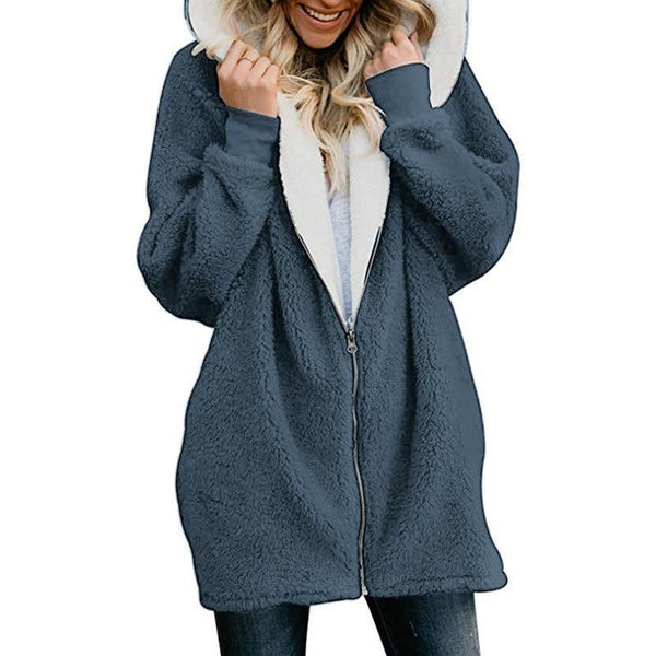 Remi - Fleece Over Size Fluffy Hoodie Sweater