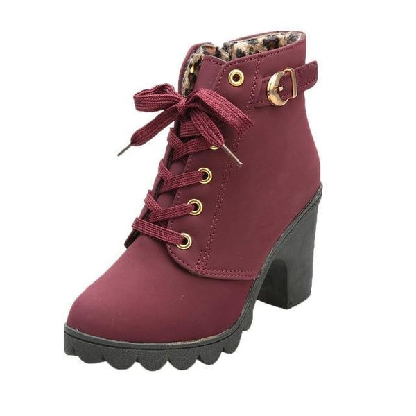 Colden - Lace Up Ankle Boots