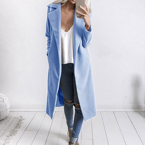 Gia - Lapel Collar Coat