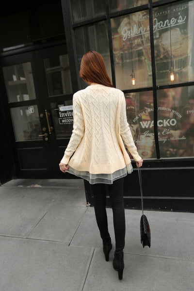 Bree - The Best-Selling Lace Sweater Top