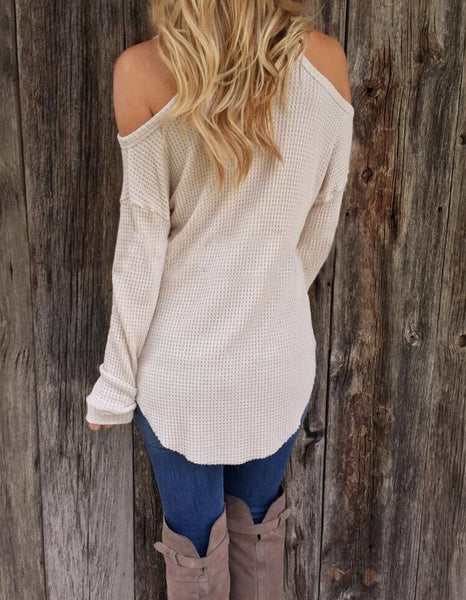 Isla - V-Neck Sweater
