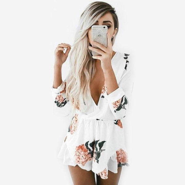 Mara - Floral Playsuit