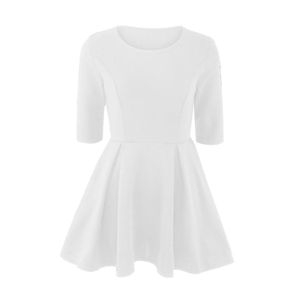 Pleat the 5th - A-Line Dress