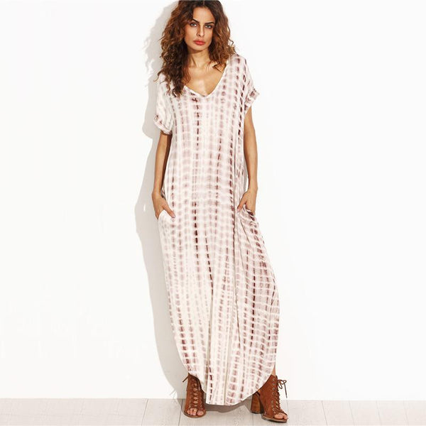 Scatter - Tie-Dye Maxi Dress
