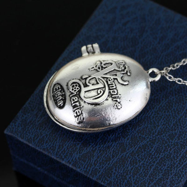 Vampire Diaries - Elena's Photo Box Pendant (with Photo Slot)