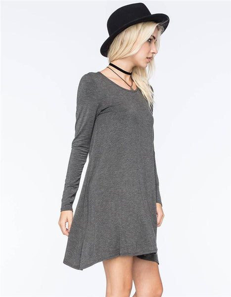 Arda - Long-Sleeve Dress
