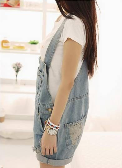 Vintage Distressed Overalls