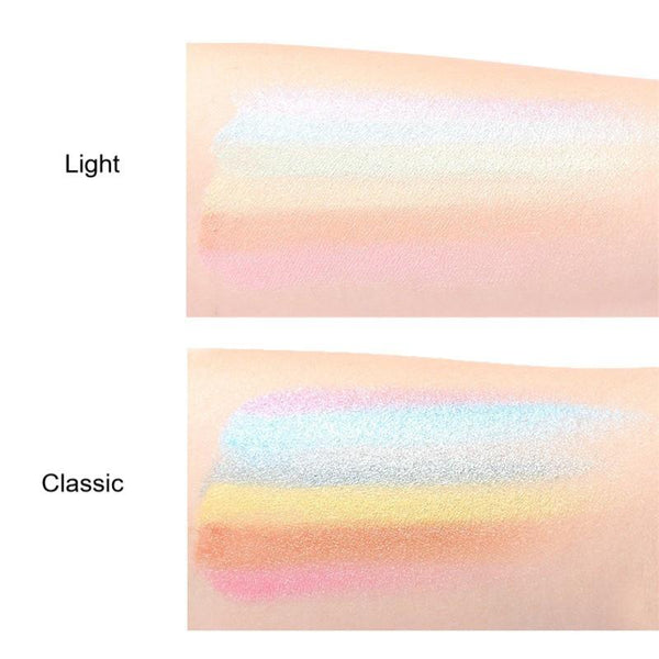 Rainbow Highlighter Contour Palette